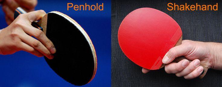 Penhold vs. Shakehand: Full Explanation for Two Table Tennis Grip Types