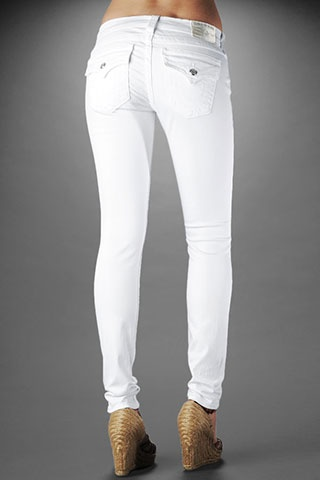 white True Religion skinny jeans. | ~Summertime and the livin's ...