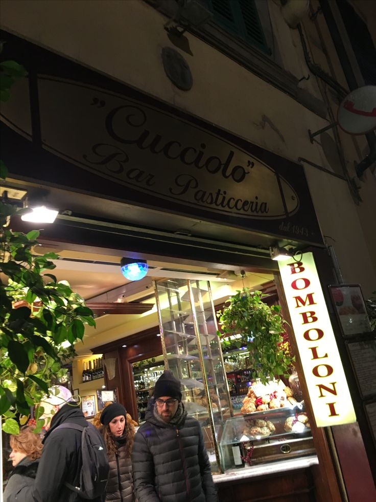 My favorite cafe in Florence. Cheap and they always give me a free pastry. Near Borgo Albizi