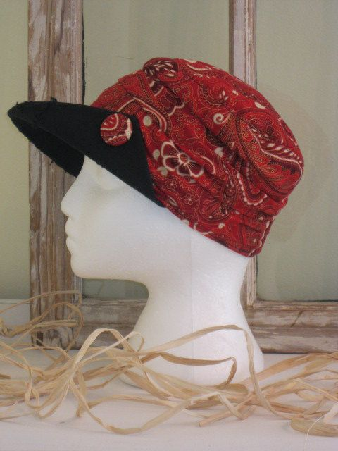 SALE on Classic red & gold Paisley cotton by BrambleWoodANDivy