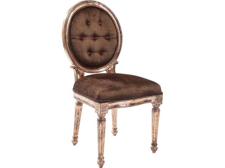 Krzesło Louis III brązowe — Krzesła Kare Design — sfmeble.pl