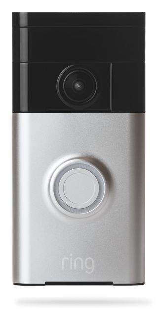 VIDEO DOORBELL RINGS YOUR SMARTPHONE: Wi-Fi-enabled Ring Doorbell lets you see visitors and answer your door through your smartphone (or tablet) from anywhere in the world. Available in four different colors at www.homecontrols.com/Ring-Video-Doorbell-BT88RG00xFC100