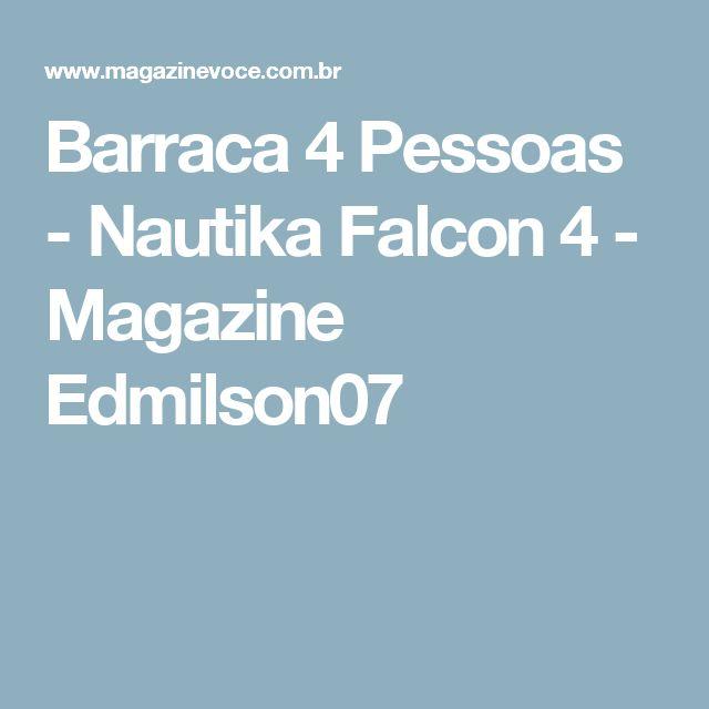 Barraca 4 Pessoas - Nautika Falcon 4 - Magazine Edmilson07