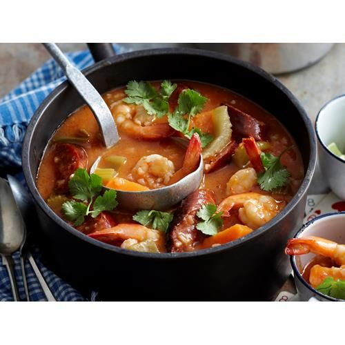Gumbo recipe.  #Soup #Dinner #Chorizo