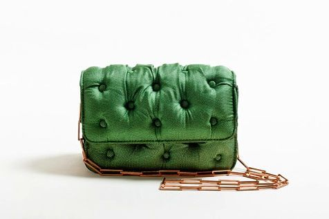 Benedetta Bruzziches // tufted sofa purse