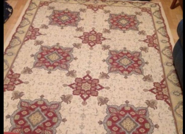 Laura Ashley very rare Angelina rug~Victorian chic~Tapestry~French style~huge by ChateauChique on Etsy