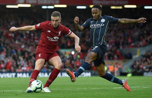 Latest Football News Raheem Sterling Praises Mo Salah And Back