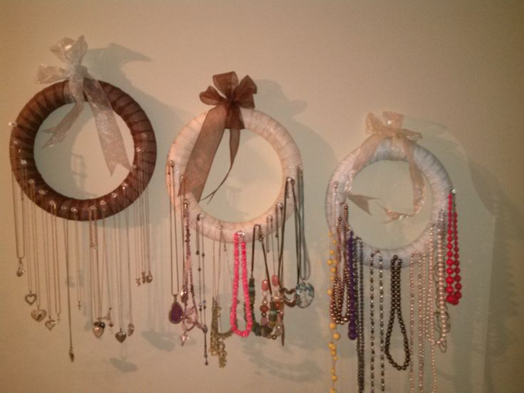 Styrofoam Wreath Covered In Ribbon Of Your Choice Use