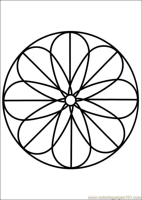 Free Printable Mandala Coloring Pages   free printable coloring page Mandala 88 (Other > Painting)