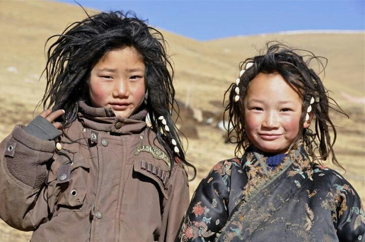 Asia: Tibet Those adorable kids!!