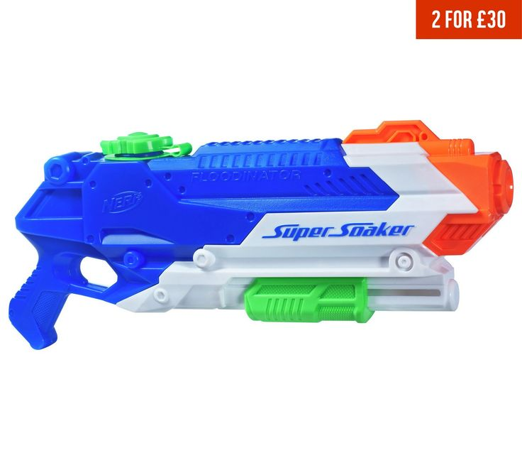 Buy Nerf Super Soaker Floodinator at Argos.co.uk, visit Argos.co.uk to shop online for Super soakers and water guns, Paddling pools and water games, Outdoor toys, Toys