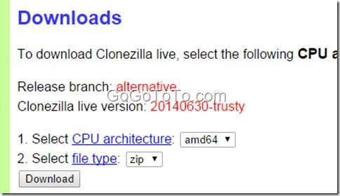 Clone Windows system using Clonezilla – Go Find To Get