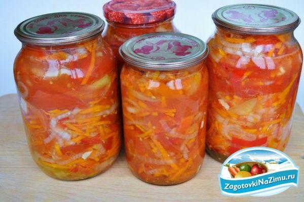 Салаты из овощей на зиму. Только лучшие рецепты!
