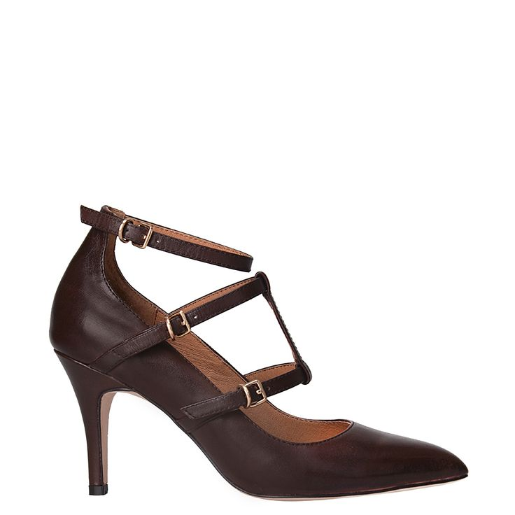 CC Corso Como Carter - Dark Brown Brushed Leather