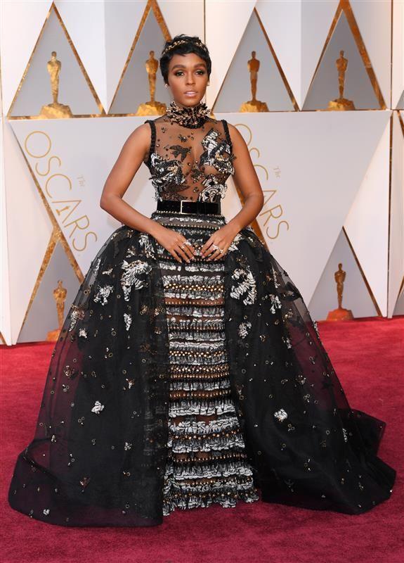 Janelle Monae - 2017 Oscars: Academy Awards wardrobe changes