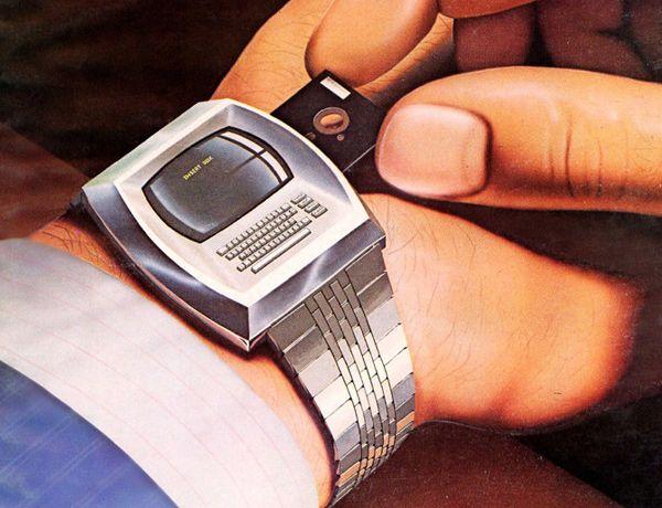 Smartwatch mit Floppy Disk: Vision des Byte Magazine vom April 1981