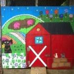 Some Chicken Coop Art: Paths, Folk Art, Art Chicken, Chicken Coop Designs, Coops Folk, Children, Chicken Stuff, Coops Art, Chicken Coops Design