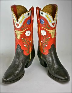 Michael Wayne Brooks Custom Cowboy Boots