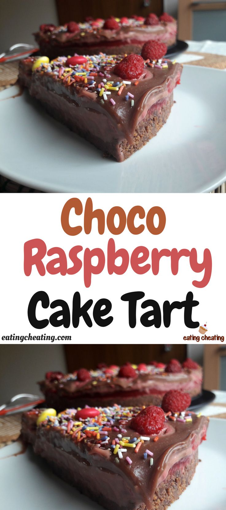 I finally prepared my best and simple creamy Raspberry Chocolate Cake Tart. This recipe for Raspberry Chocolate Cake Tart is perfect for the holidays!