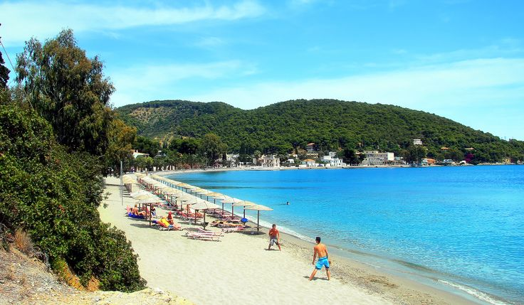 Askeli Beach - Poros Ilsand