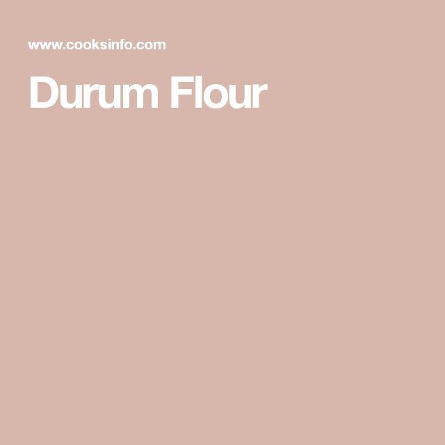 Durum Flour