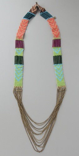loom bead necklace