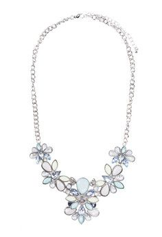 Gemstone Multi Flower Necklace as a statement Necklace! Now can get 15% discount off wid voucher code ZBAPfGf :)
