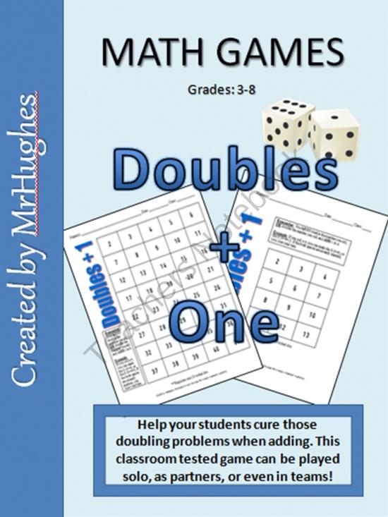 32 best Doubles images on Pinterest | Doubles facts, Math doubles ...