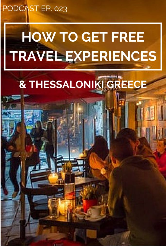 023 How to get free travel experiences + Thessaloniki, Greece. Hear all the latest travel hacking tips on our latest podcast episode.