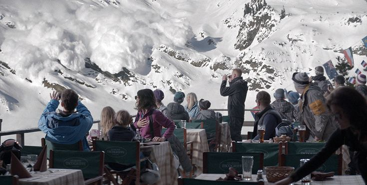 TIFF.net | Force Majeure An impulsive decision in a moment of crisis drives a wedge between a husband and wife, in this gripping moral drama from provocative director Ruben Östlund (Play) that became a word-of-mouth sensation at this year's Cannes.