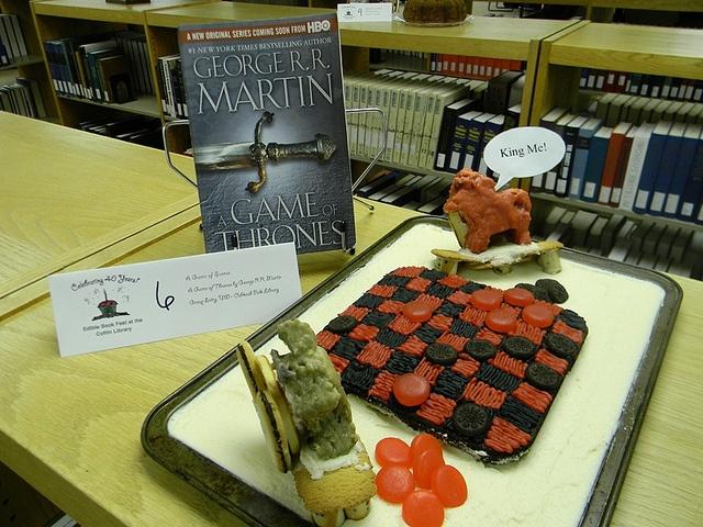 A Game of Scones Food humor, Book festival, Edible
