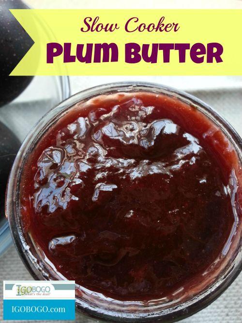 Slow Cooker Plum Butter