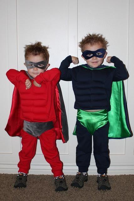 DIY Superhero Costume : DIY  Pretty SUPER! :DIY Halloween DIY Costumes