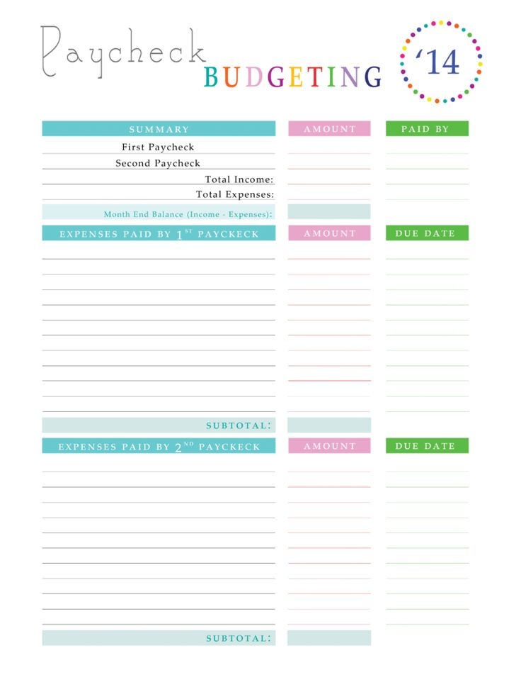 30 best Budgeting money images on Pinterest Finance, Money budget - sample personal budget spreadsheet