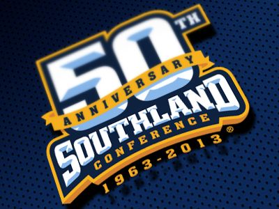 Dribbble - The Southland Conference 50th Anniversary Logo by Kristopher Bazen