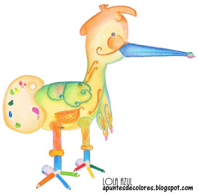 Apuntes de colores: Pato pollo pinta