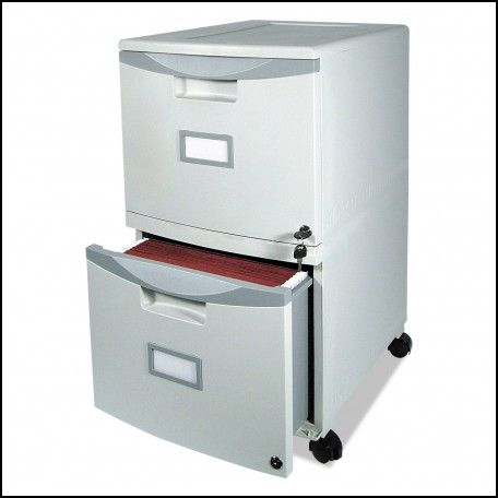 Plastic File Cabinet On Wheels