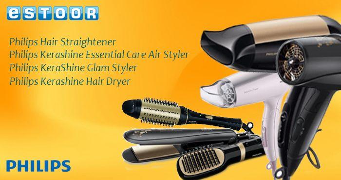 Hair styling tools & appliances now available. Shop & get best bargains @ eSTOOR.com