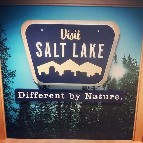 Salt Lake City Airport welcome sign | Flickr - Photo Sharing!
