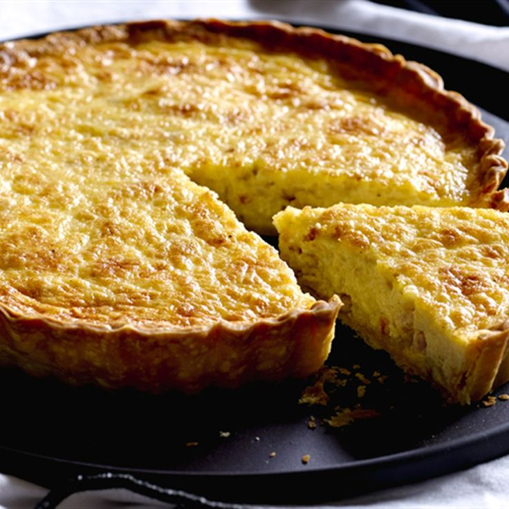 Try this Quiche Lorraine recipe.