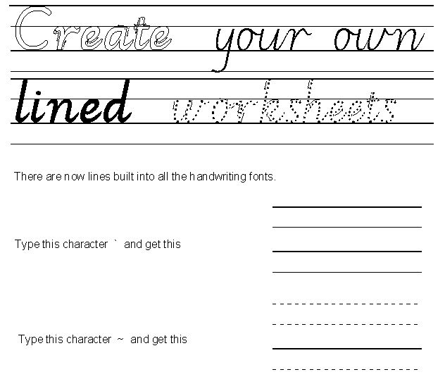 School fonts Handwriting and maths fonts for schools - oukas info