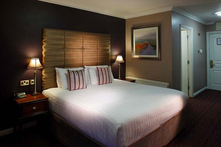 Forstercourt Hotel Galway Ireland - Double Bedroom © David Cantwell Photography