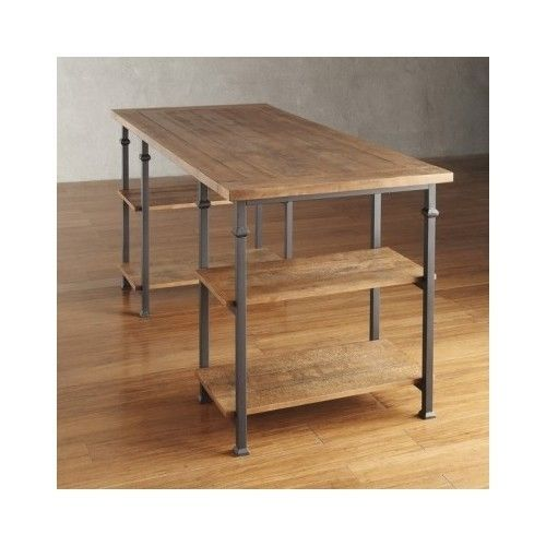 Vintage-Industrial-Desk-Rustic-Oak-Storage-Modern-Executive-Large-Writing-Table