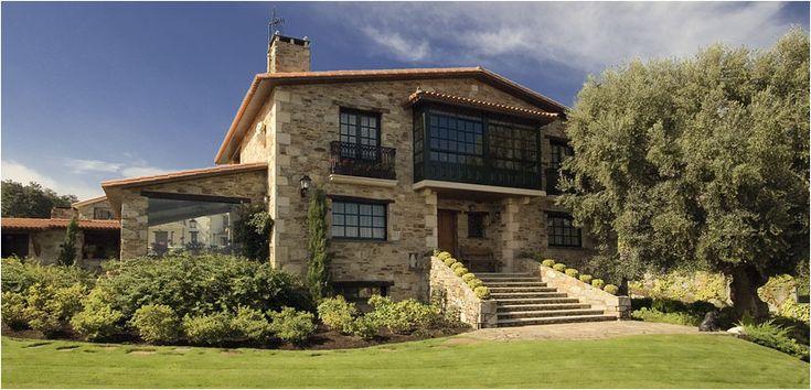 Best 20 casas rusticas de piedra ideas on pinterest - Construcciones de casas ...