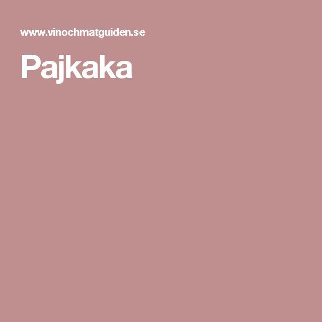 Pajkaka
