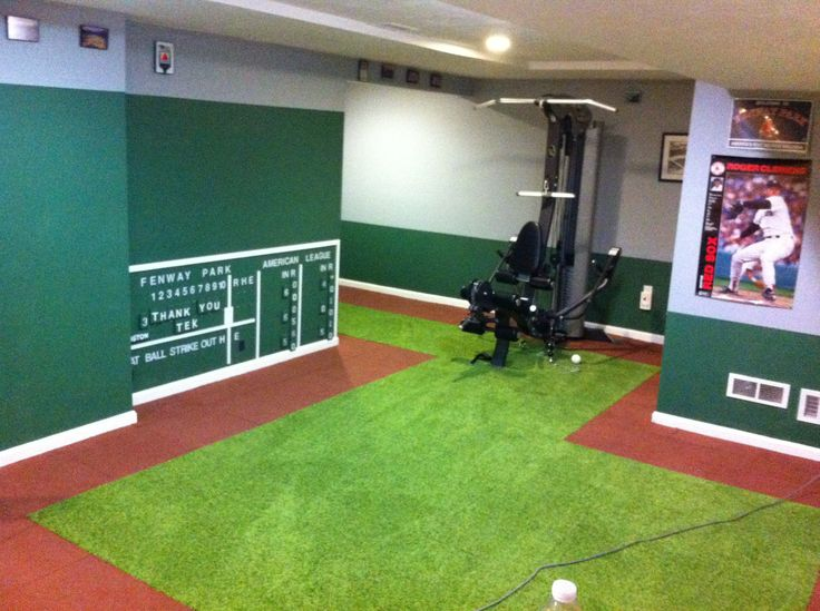 Boston Red Sox Room With Manual Scoreboard Workshop