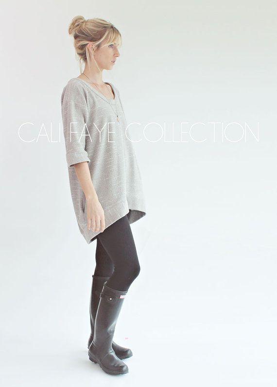 Perri-Pullover ist die Verkörperung von Komfort und Stil. Die a-line Silhouette gepaart mit der leichten Fischschwanz Basis geben aus ihrer