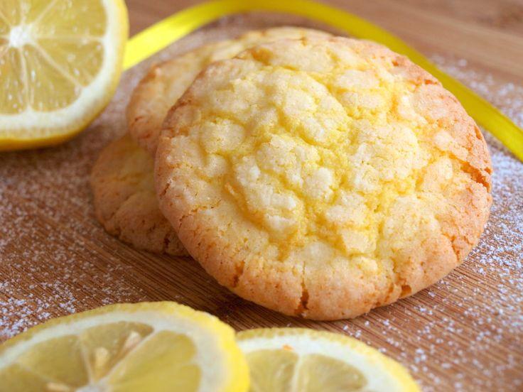 Citronové crinkles - Avec Plaisir