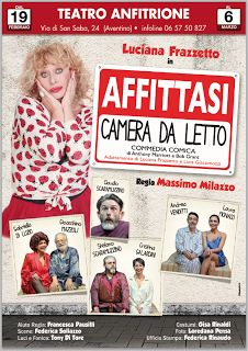 """TG Musical e Teatro in Italia: LUCIANA FRAZZETTO in """"AFFITTASI CAMERA DA LETTO"""""""