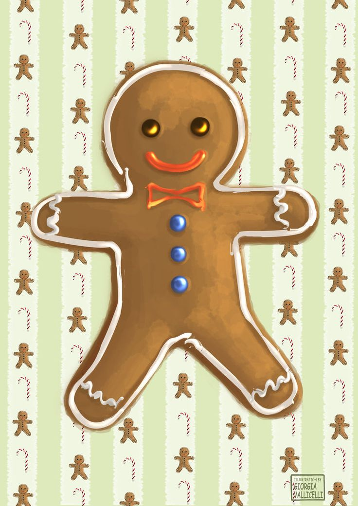 Christmas Time |Gingerbread Man by FairyWorld84